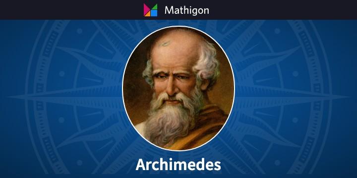 Archimedes – 数学のタイムライン – Mathigon