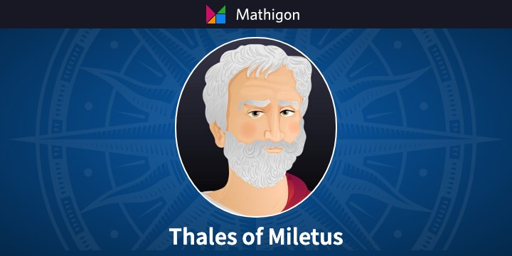 Thales – 数学のタイムライン – Mathigon